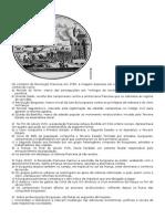 Exercicios Sobre a Revoluçâo Francesa