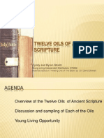 Twelve Oils of Ancient Scripture Presentation