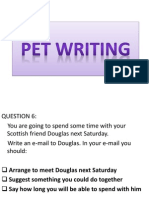 Pet Writing
