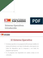 Clase 1.0 - Introducción a Los Sistemas Operativos