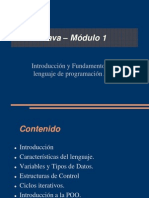Java - Modulo 1