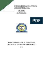 Cim Manual(b.tech)