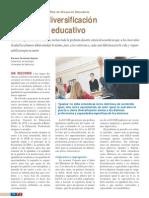 Igualdad, diversificación y proyecto educativo