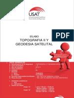 Silabo Topografia II - 2014 II