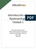 Edith Guzmán, Unidad 1, Introducción a La Epistemología