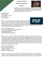 Questc3b5es Filosofia Do Direito Gabarito