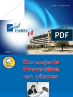 Consejeria en Cancer