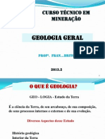 1 - Aula Geologia I 2013 2