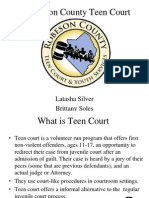 robeson county teen court