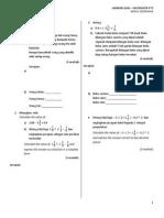 contoh soalan b matematik pt3
