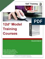 12DTraining Brochure QLD