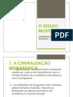 o Estado Moderno Portugues