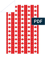 Bandeirinhas Canadá