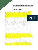 La Economía Chilena (Palma)
