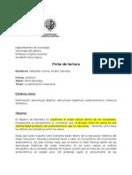 Ficha Bourdieu - La Dominación Masculina