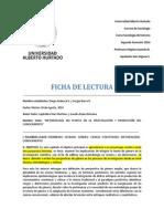 Ficha de Lectura - Andueza, Bravo