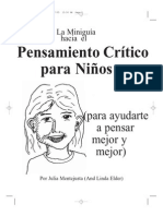 Pensamiento Critico en Niños