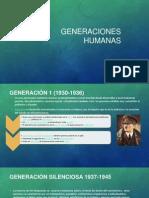 Generaciones Humanas 1