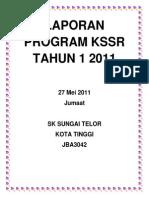 Laporan Program Kssr Tahun 1 2011