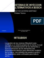 9- SISTEMAS DE INYECCION ALTERNATIVOS A BOSCH MITSUBISHI MPI.ppt