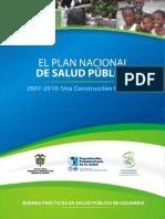 3Plan Nacional Salud Publica 2007-10
