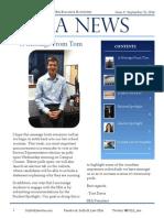 SBA Newsletter 3 - 9/22/14