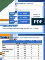 Telecom Equipment Industry - Handset Manufacturing