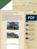 Inspirasi Desain Rumah Anda_ Desain Rumah Di Tanah Miring