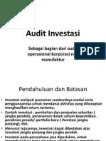Audit Investasi