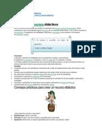 Definición de Recursos Didácticos