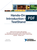 Hands-On Introduction to TestStand