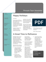 Pinnacle Team December 2009 Newsletter