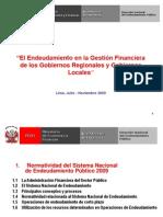 1 Normatividad Sist Nac Endeudamiento Publico2009 (1)