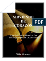 Sirviendo de Corazc3b3n Por Willie Alvarenga