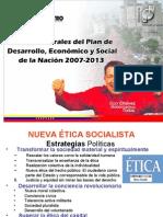 Plan de desarrollo economico y Social 2 007 - 2-013