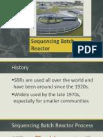 Sequence Batch reactor