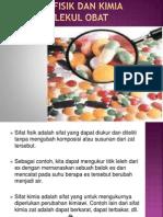 Sifat Fisik Molekul Obat Ok