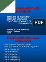 TRAST MENTALES ORGÁNICOS