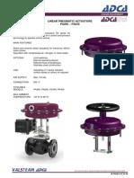 3.68.E.pa205-PA435 Linear Pneumatic Actuators