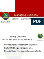 Overview of Management