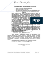 STJ - 6ª T. - ABRIL 2014 - Descumprimento - Medida Prtetiva - Desobediência - Impossibilidade