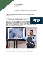 20140921 - Emite Protección Civil alerta binacional por posible contaminación al Río San Pedro hacia EU