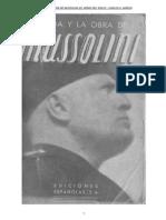 La Vida y La Obra de Mussolini