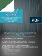 Analisis de La Informacion y Elaboracion Del Informe Final de Auditoria