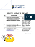 3_industrial Training Checklist