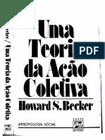 BECKER, Howard S. - Uma Teoria Da Ação Coletiva