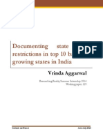 329 Documenting State Level Restrictions in Top 10 Bamboo Growing States in India Vrinda Aggarwal