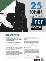 TOP 25 MBA Associate Schemes