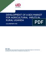 mR 155 - Development of a BDS Market for Agricultural Inputs in Rural Uganda