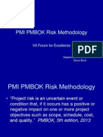 PMI Risk Methdology Bonk